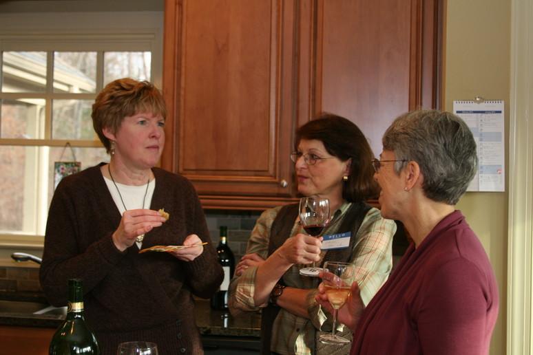 Debbie, Sheila and Jean