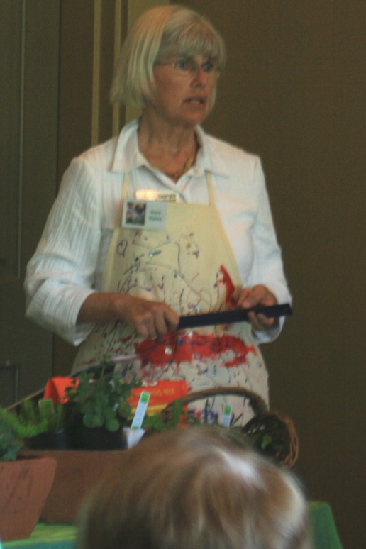 Gardener Ann Ripley