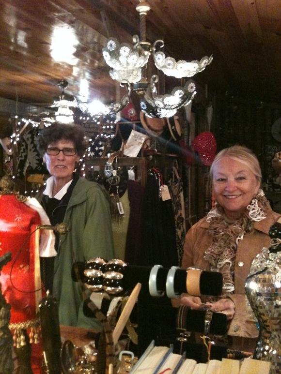 Sandy & Lynda in Cleveland