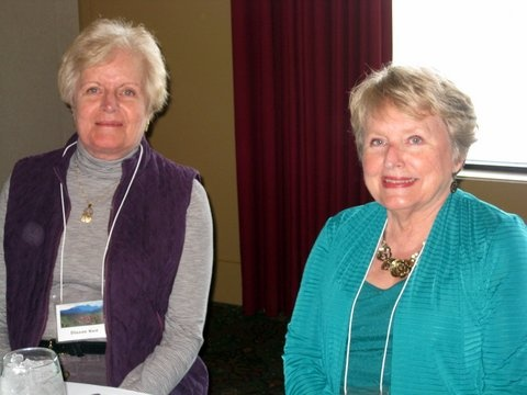 Verna with Dianne Ward