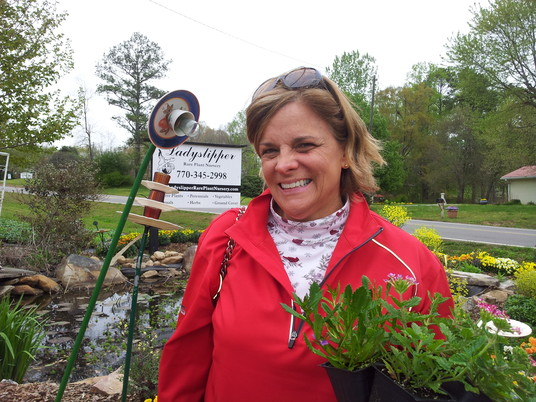 Finding treasures on nursery tour – Lorene Phelps