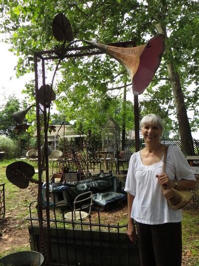 Joann under Jane's Arbor