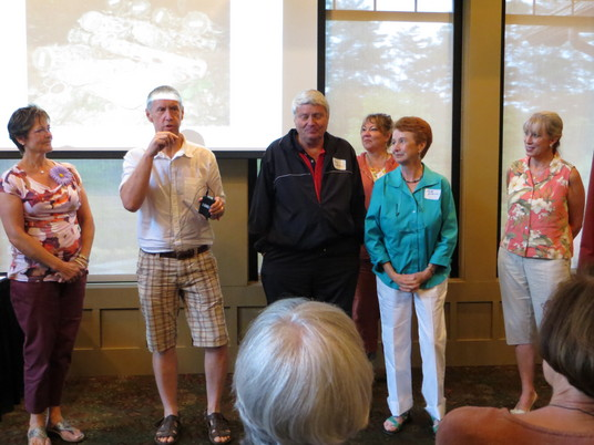 New members in August: Robin Peterson, Gary & Beth Johnson, Pete Nelson & Barbara Henry