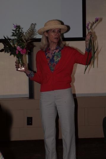 Our May speaker Erica Glasener