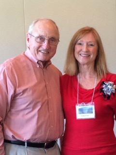 Coach Dooley at WFB – Eunice greets our speaker