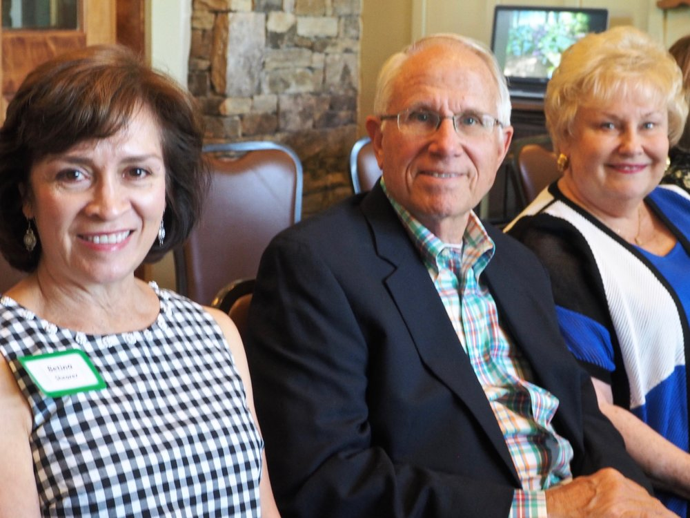 Betina Shearer and Glen and Linda Coffman