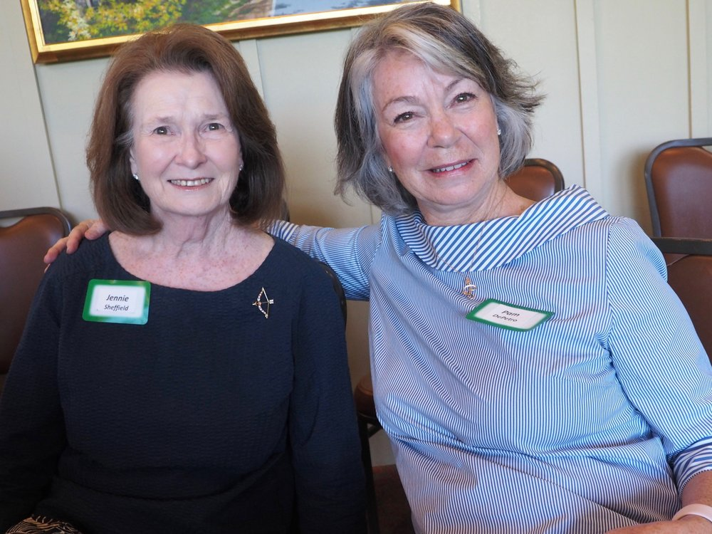 Jennie Sheffield and Pam Depetro