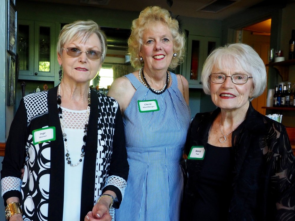 Inge Warner, Cherie Muehlberger and Nancy Popp