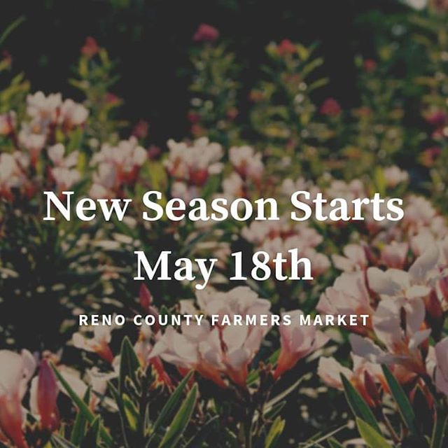 Happy Spring Reno County! We have missed you.  We also miss our favorite locally produced food and goods. We're so excited to celebrate our local farmers with another great season of the Reno County Farmers Market. . Stay tuned for some exciting new event announcements.  #RCFM #RenoCountyFarmersMarket #HutchinsonFarmersMarket #RenoCounty #Hutchinson #Kansas #KansasPride #NewSeason #Spring #LocalFood #ShopLocal #EatLocal