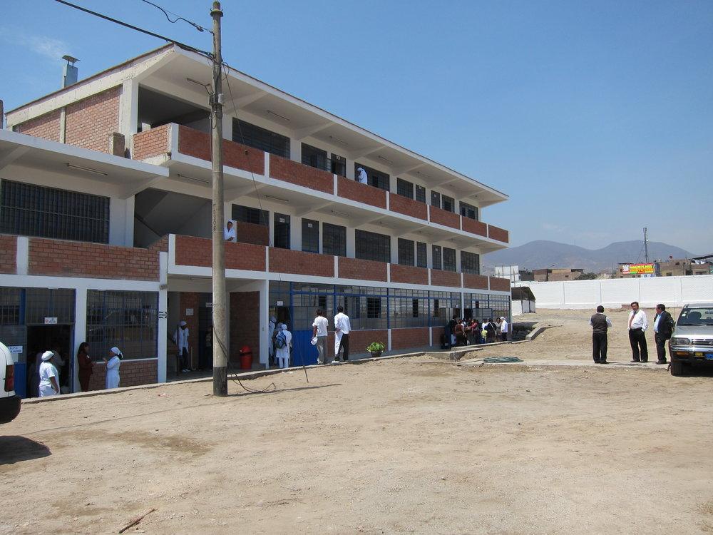 Centro de capacitación profesional para jóvenes de escasos recursos -