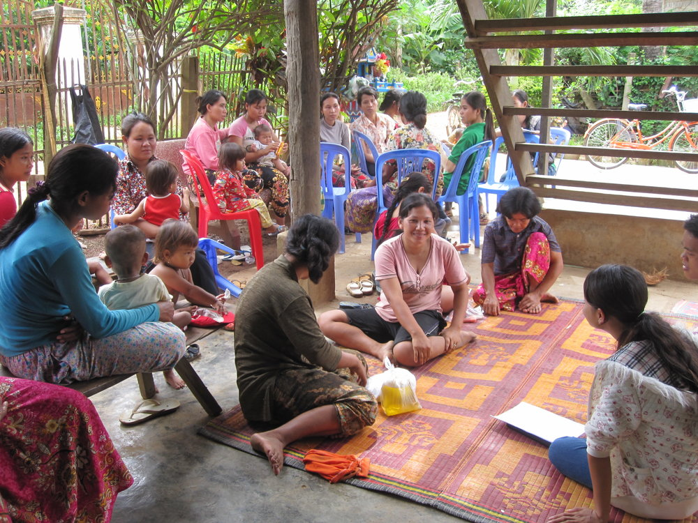 Identificación de un proyecto educativo para mujeres y niños en Camboya -