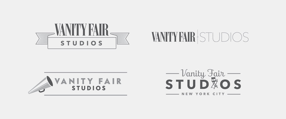 VANITY FAIR INTERNAL ADVERTISING GROUP LOGO AND LOGO STUDY