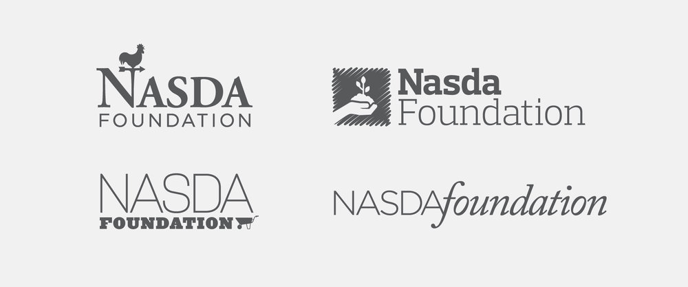 NASDA FARM POLICY FOUNDATION LOGO AND LOGO STUDY