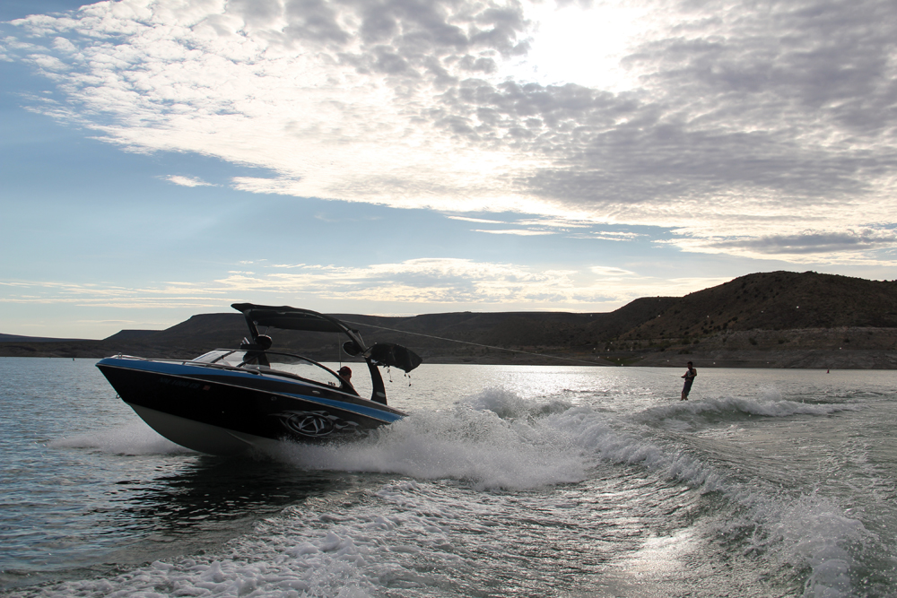 Water sports on Elephant Butte Lake