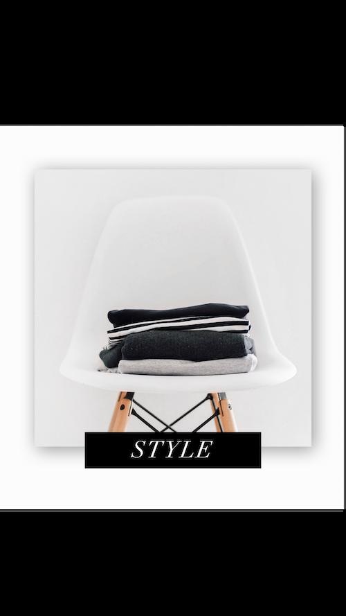 CC Style White Modern Chair Clothes