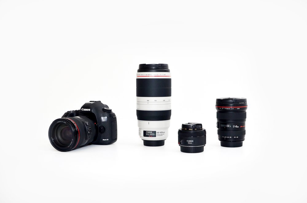 Canon 5D Mark iii with lenses   $40/Half day, $75/Full day