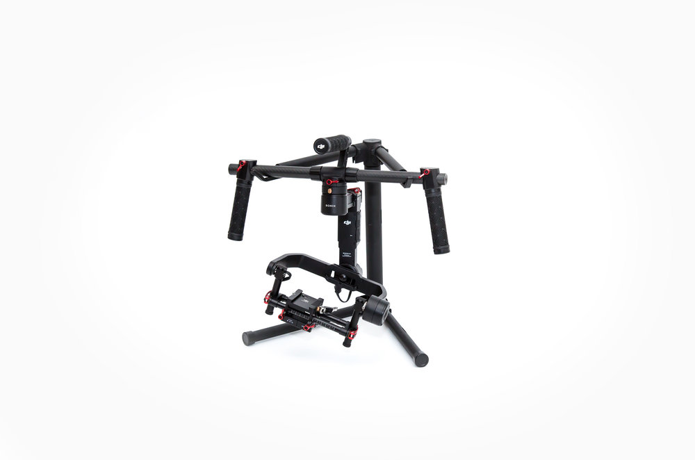 DJI Ronin M 3-Axis Handheld Stabilizers   For 1:  $40/Half day,  $75/Full day  For 2: $70/Half day, $140/Full day