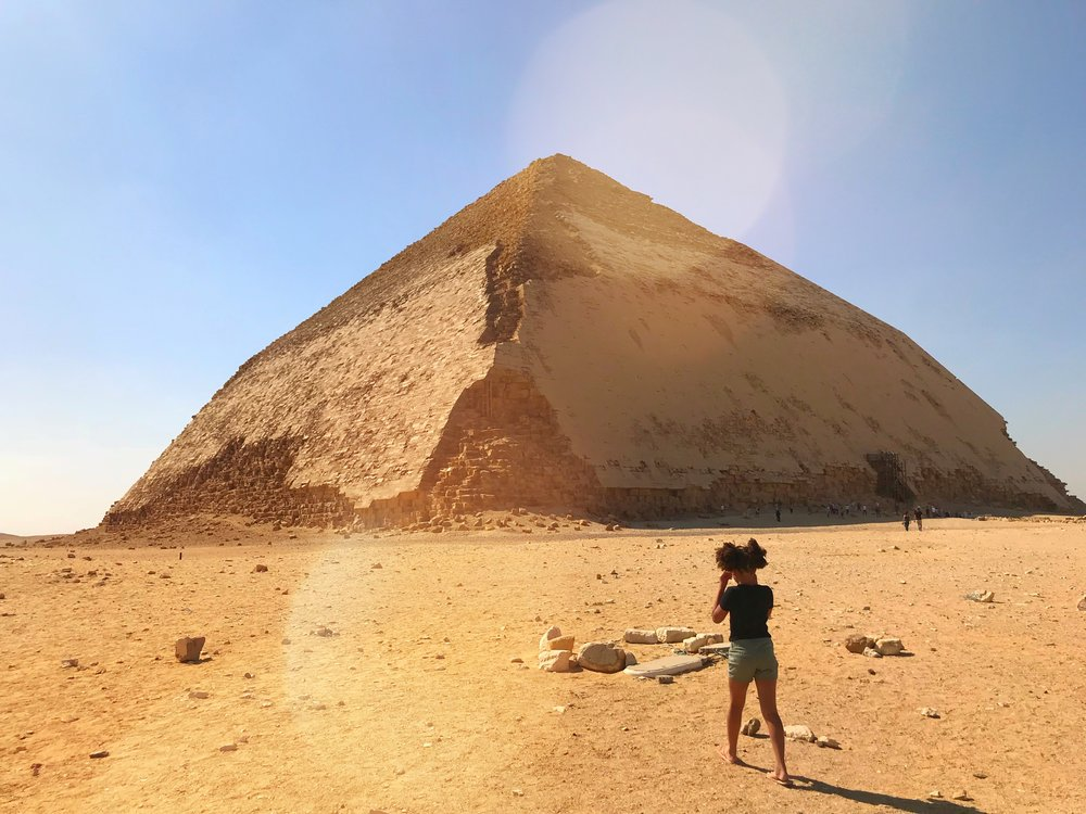 Red Pyramid, Cairo, Egypt