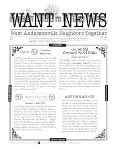 WANT 2013 June Newsletter