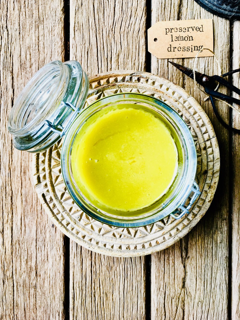 Preserved lemon dressing
