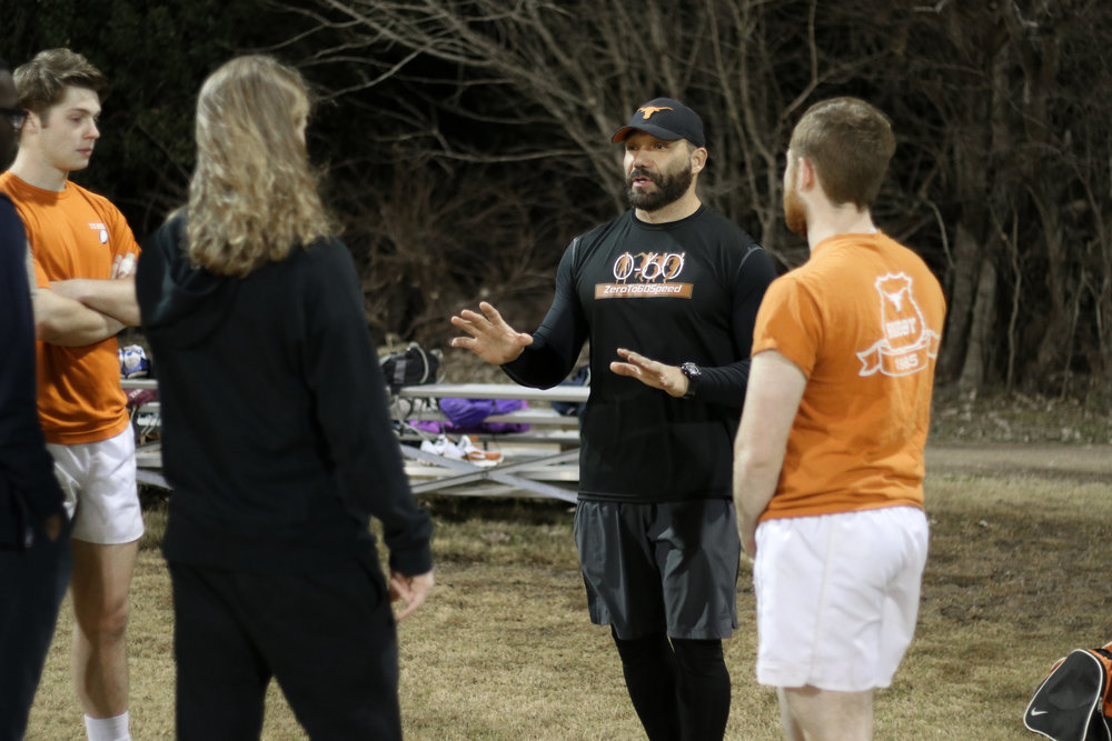 Conditioning - Our strength and conditioning program is designed by Marco Martinez, a celebrated strength and speed coach in the Austin area. Our program focuses on muscular endurance, power endurance, and explosiveness. The program uses the player's bodyweight in order to give them the functional strength they need to compete at the highest levels of rugby.