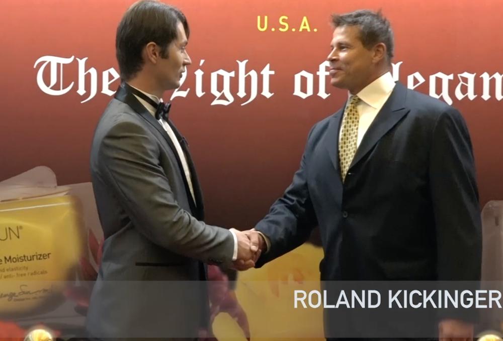 Victor Migalchan interviewes Roland Kickinger