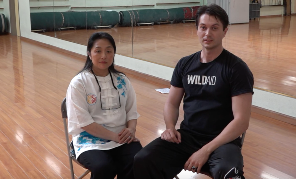 Victor Migalchan interviewes Gao Jia Min