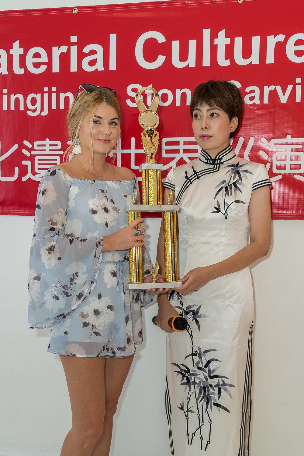 Deedee Benkovich and Yang Jingjing