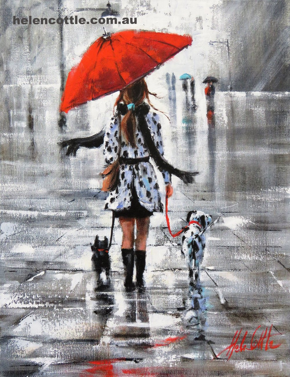 Matching coats Acrylic on canvas 46x26cm By Helen Cottle.JPG