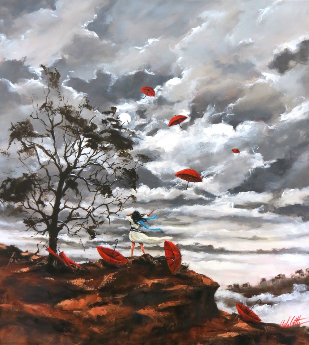 FLY ME TO THE MOON. ACRYLIC 1MTX90CM .JPG