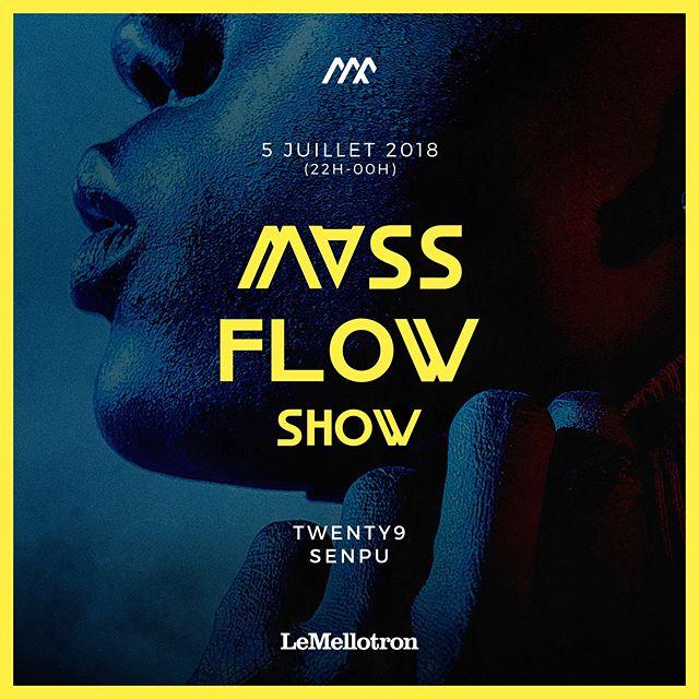 👐 On vous attend jeudi soir au @LeMellotron pour le 5ème Mass Flow Show avec @sxnpu et @beatsbyt9⚡Artwork by @emmeranr #massflowcrew #massflowshow