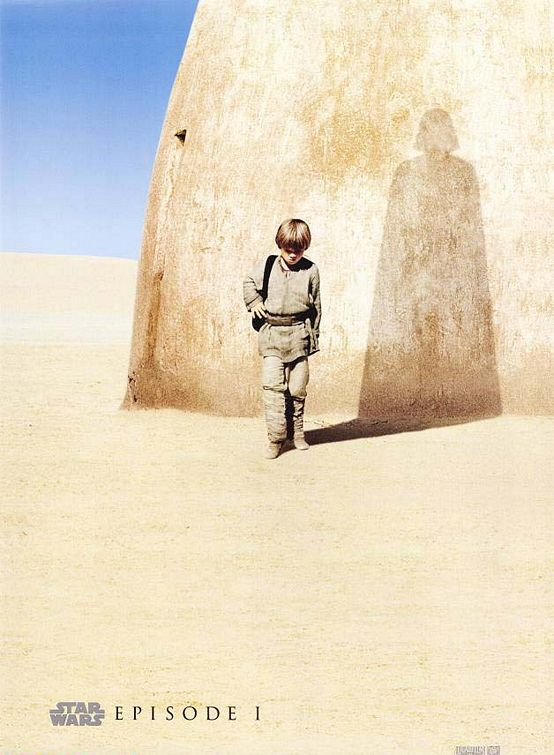 Phantom Menace Teaser Poster