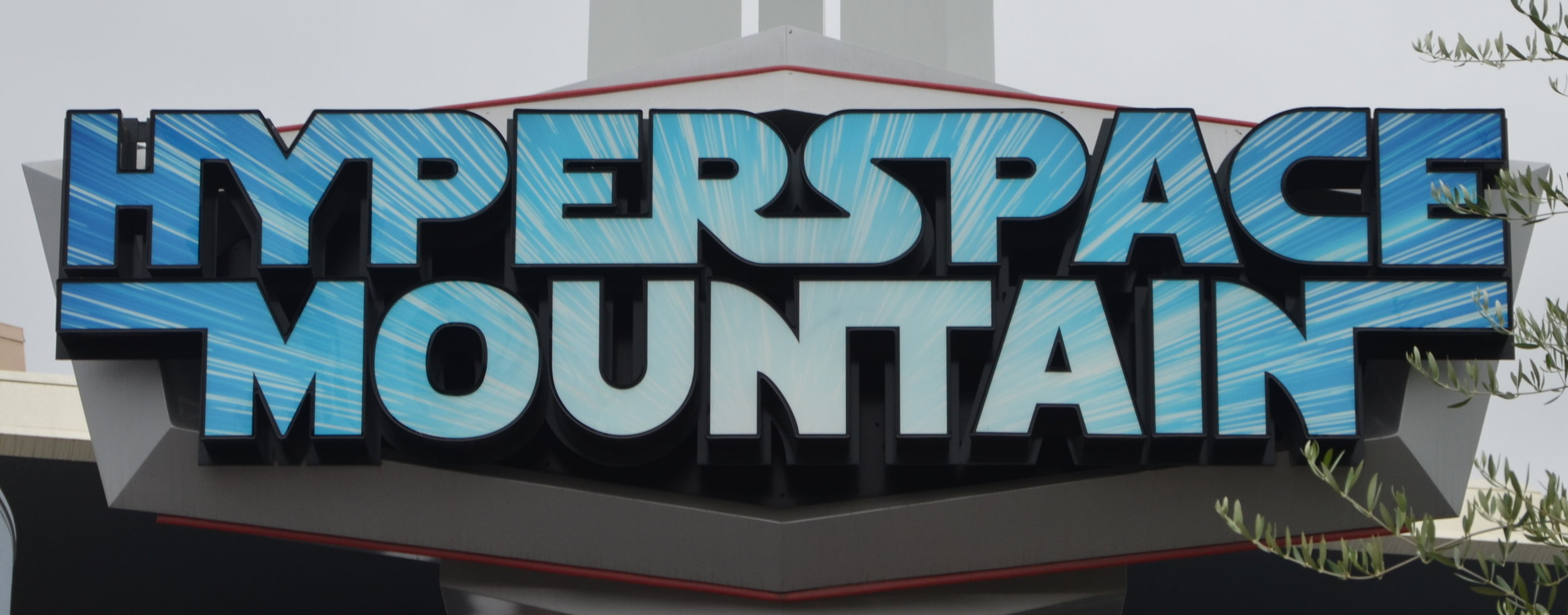 Hyperspace Mountain sign