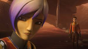 Sabine watches the sunset as she dreads the future.