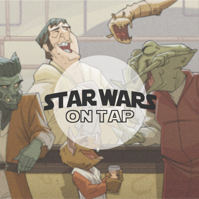 - Star Wars On Tap! is a podcast series where we sit down with Star Wars fans across the galaxy to chat and share in their Star Wars experience. (Cantina scene artwork created by PatrickSchoenmaker)