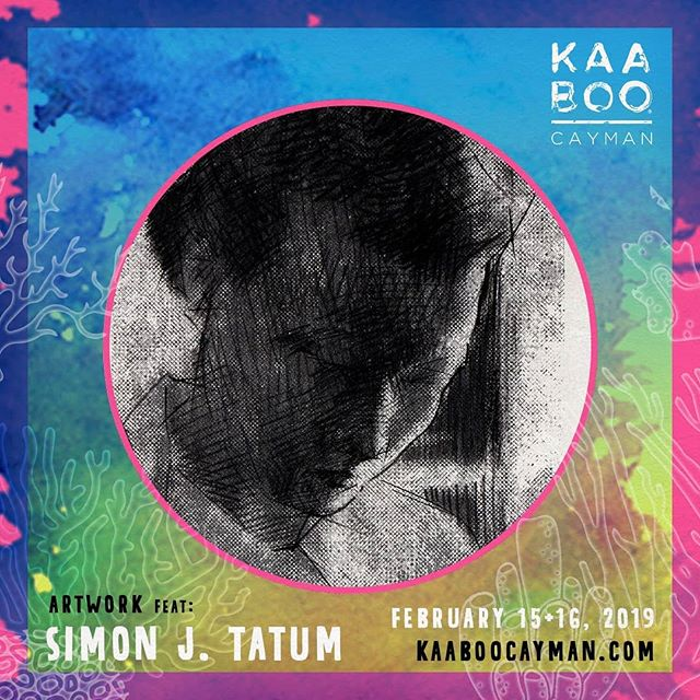 Look out for my works at the Kaaboo Cayman festival this weekend! My work will be featured with several other artists, including @davin.ebanks , @kstonekk, @dreadyworld, @alynnpaint and more! . . #kaaboocayman #kaaboo #artwork #artist #simontatum
