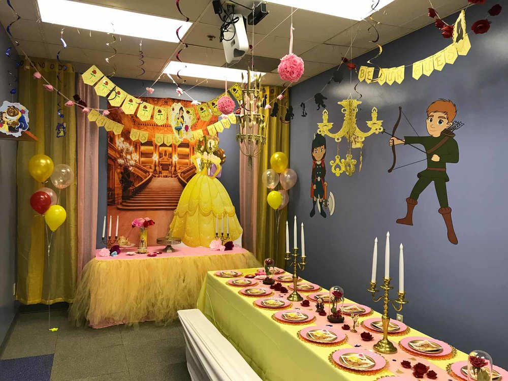 Themes - Parties Organized by Theme