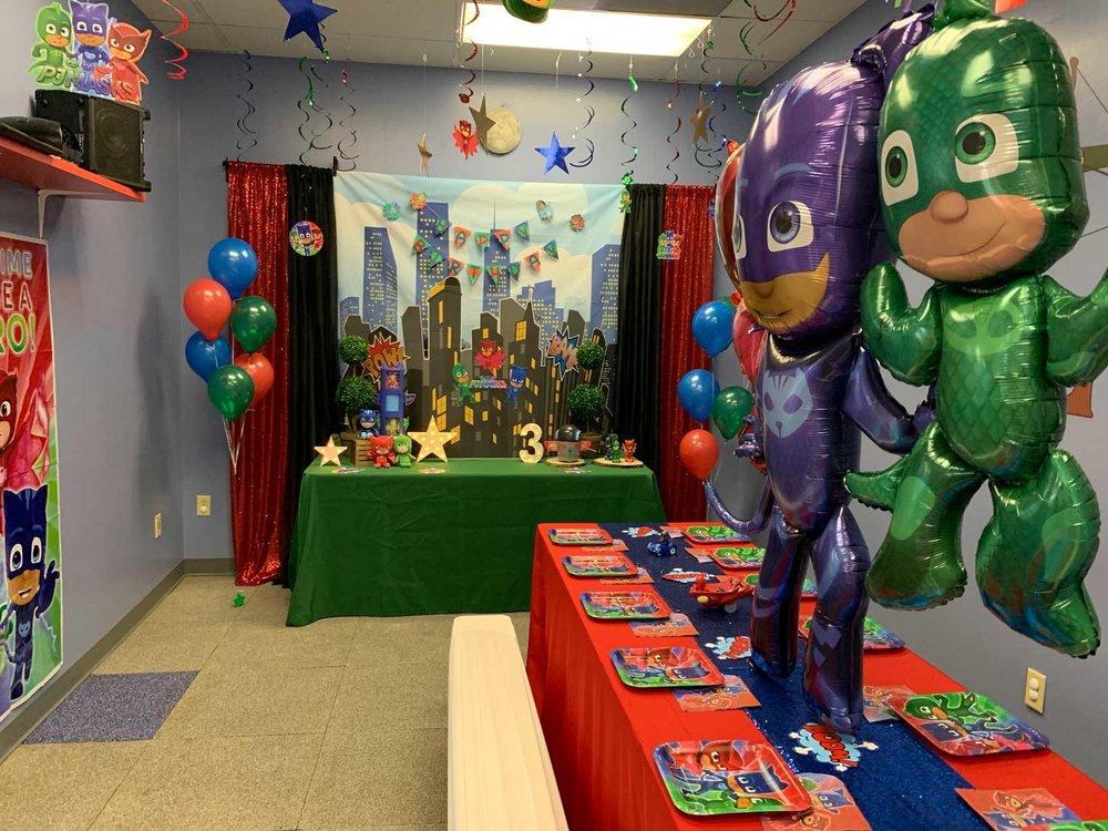 toddler birthday party orlando