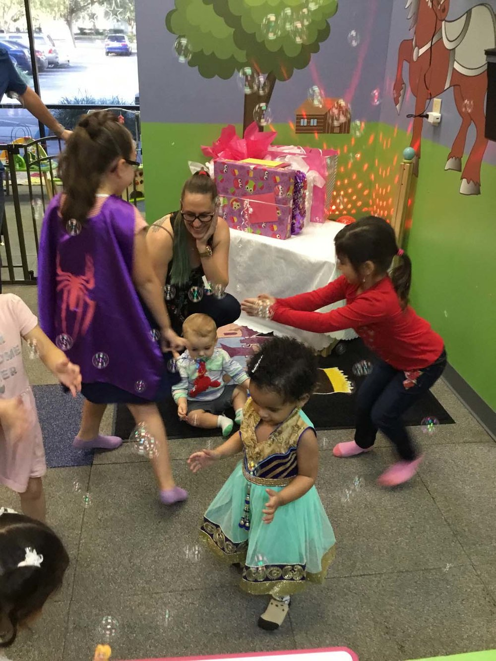 Winter Garden Toddler Birthday Party
