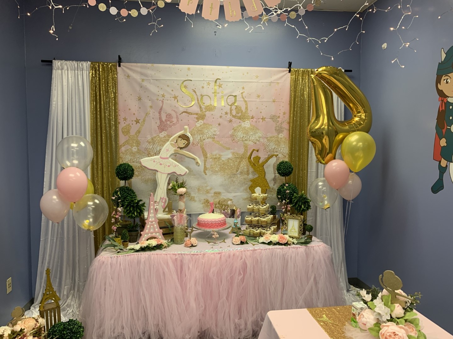 Ballet Themed Kids Birthday Party At Princesses And Princes