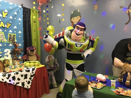 Toy Story Theme 3 Year Old Birthday Party Orlando FL