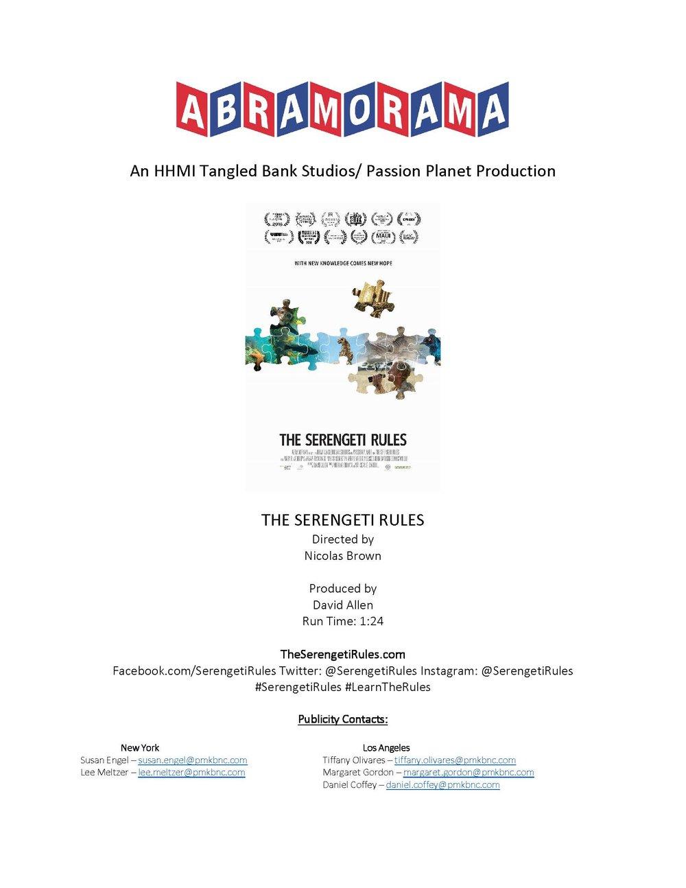 PRESS KIT - 730K PDF