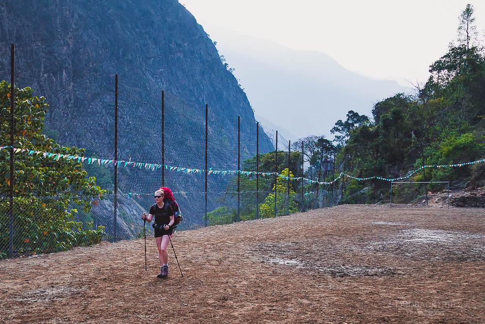 annapurna circuit trekking   football field   chamje   bhulbule   besisahar to chame   part 1   collage 1   laidback trip