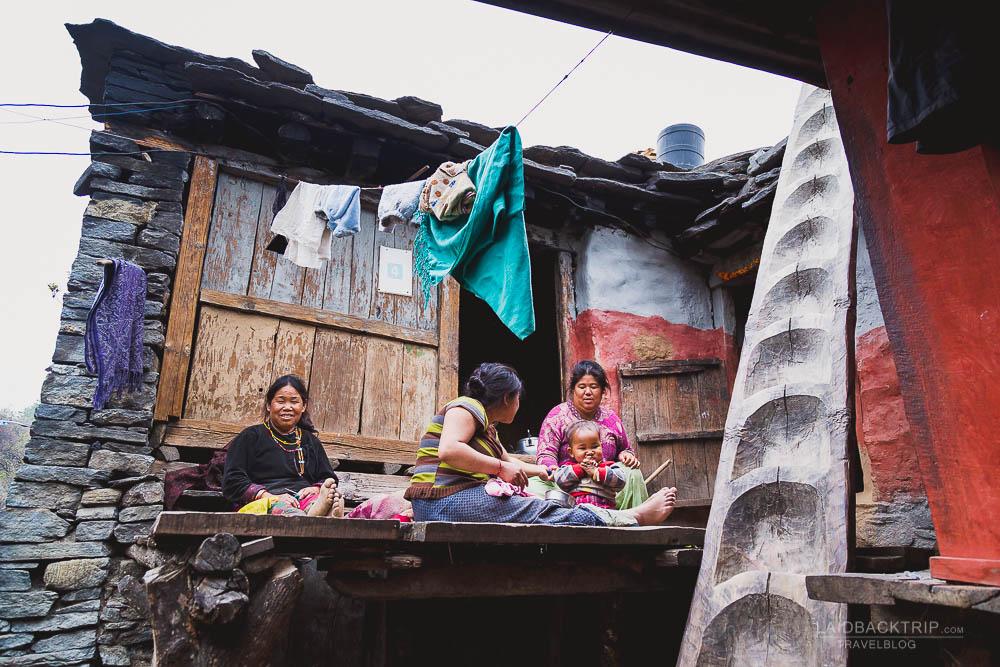 annapurna circuit trekking   odar village   bagarchap   besisahar to chame   part 1   laidback trip