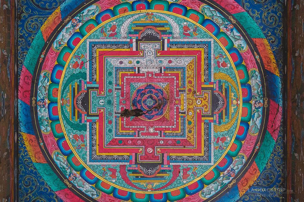 annapurna circuit trekking   mandala   buddhism   spiritual symbol   chame   besisahar to chame   part 1   laidback rip