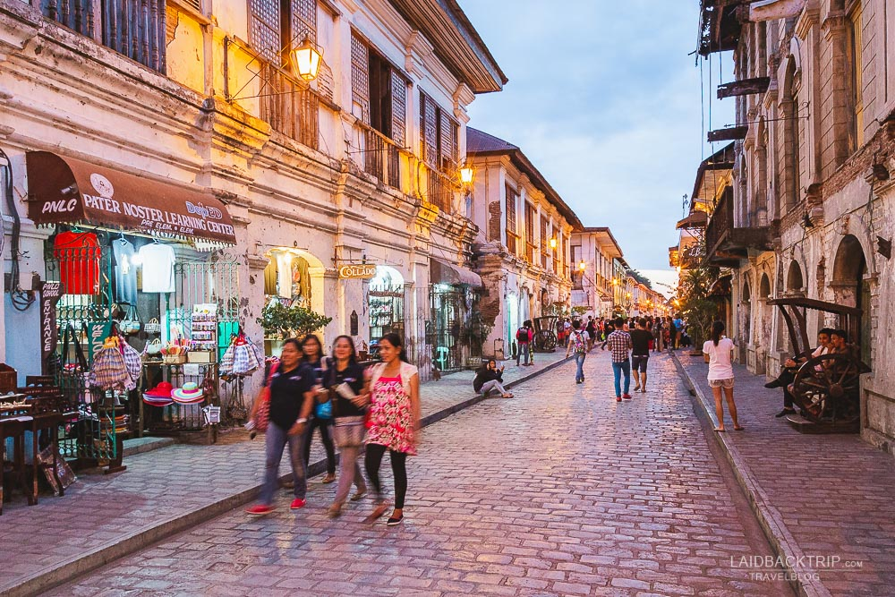calle crisologo in vigan | what to see and do in vigan guide by laidbacktrip