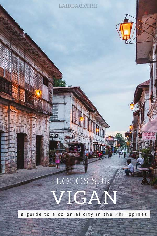 Vigan in the Philippines
