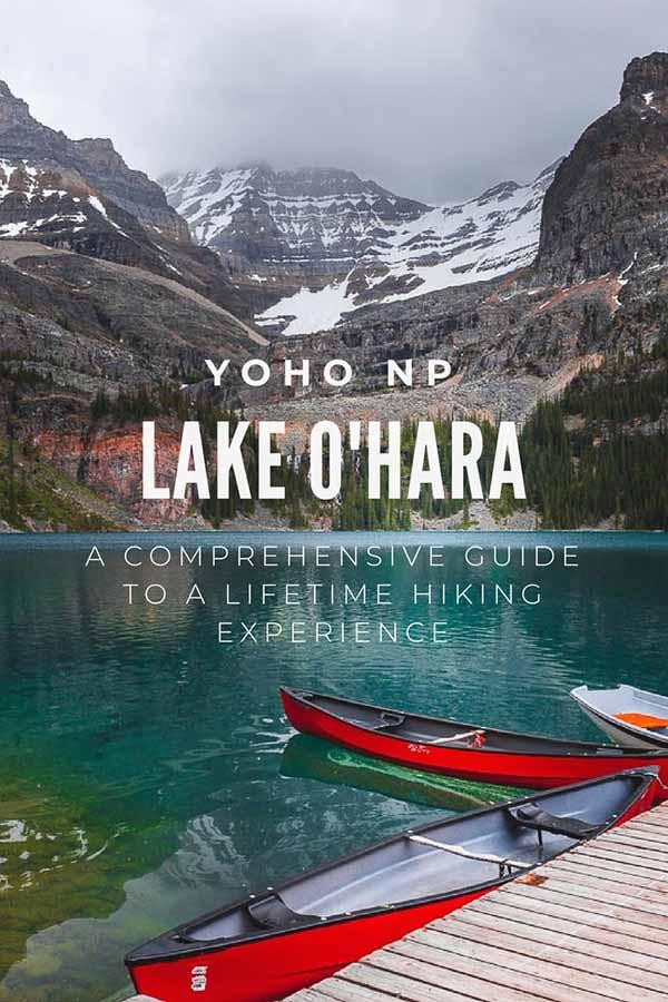 Lake O'Hara Guide