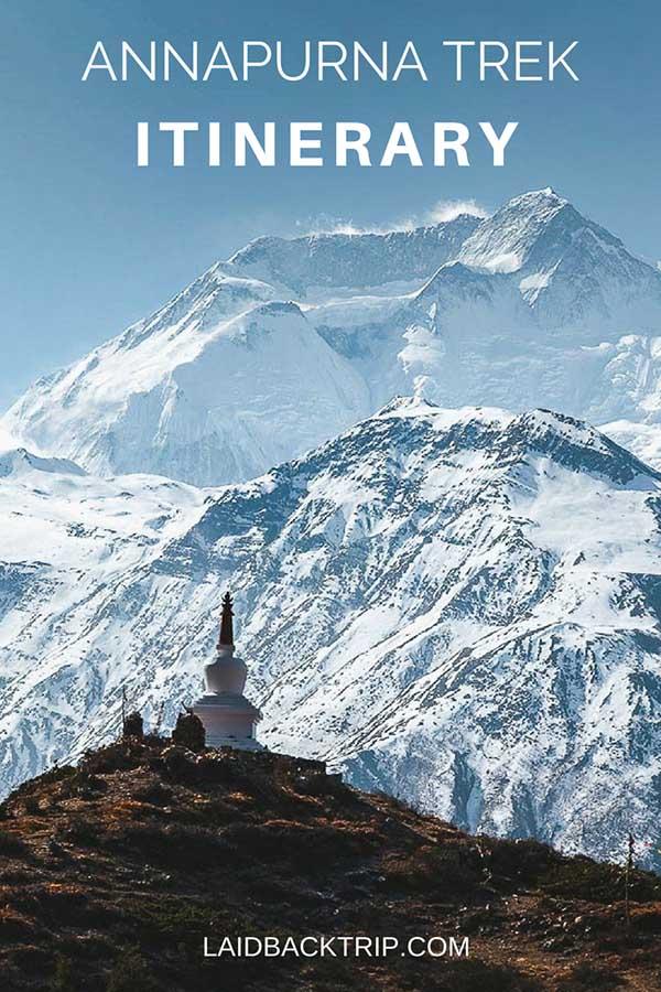 Annapurna Circuit Itinerary