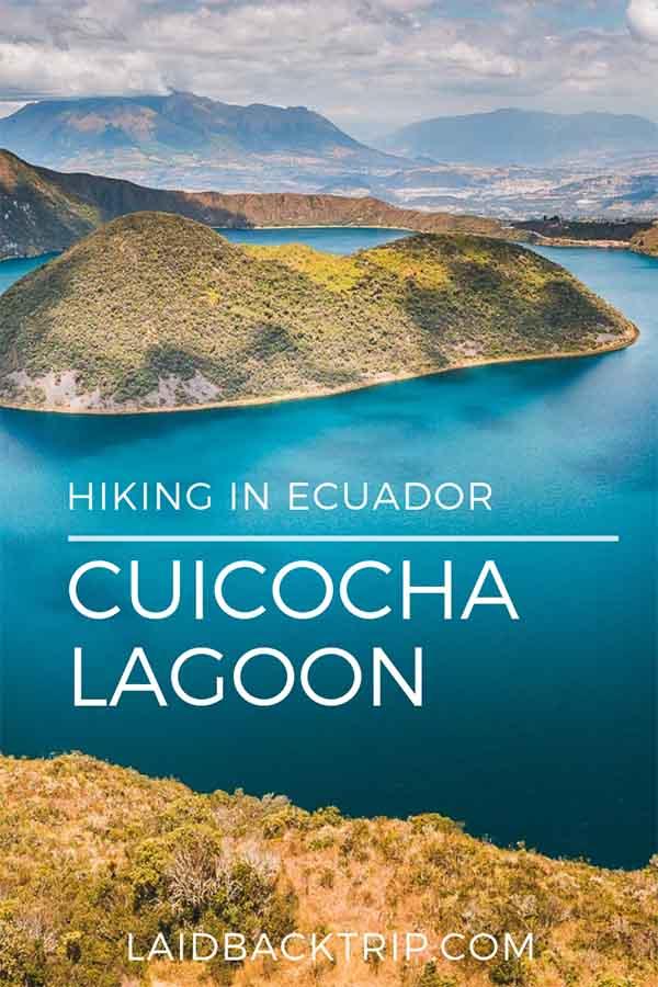 Hiking Laguna Cuicocha, Ecuador